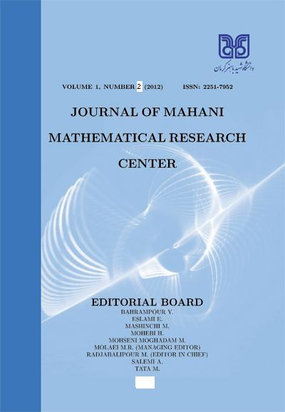 Journal of Mahani Mathematical Research Center